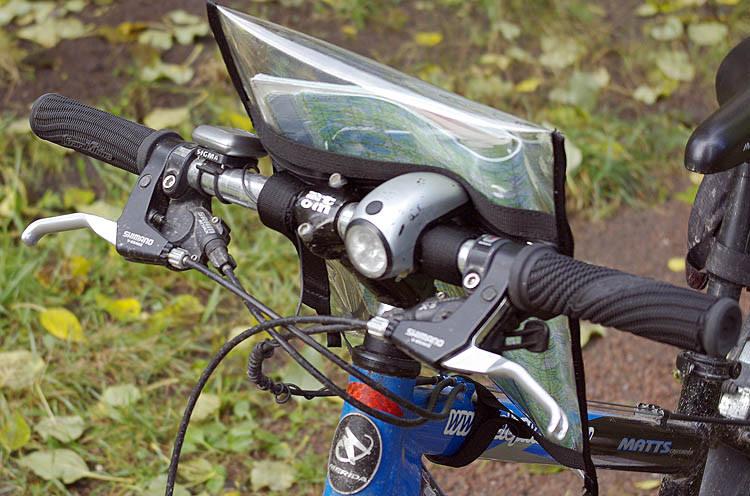 Планшет для ориентирования на велосипед своими руками