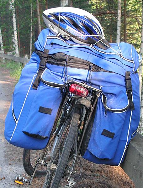 Велорюкзак- штаны городские рюкзаки фото